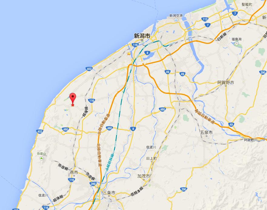 工場のマップ