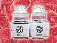 これまで企画・製作したオリジナル紅茶の一例:ローズティー - 癒しの紅茶専門店リーフィー