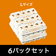 寿雀卵 Lサイズ 6パックセット[送料込み]