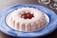 あまおうの濃厚レアチーズケーキ