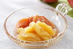 桃の砂糖煮