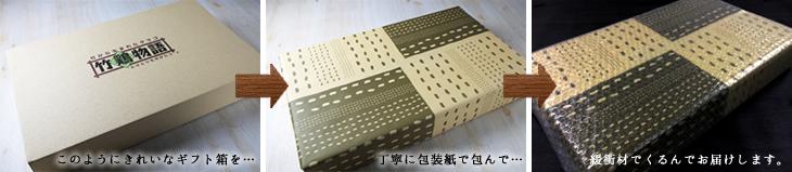 竹鶏物語ギフト箱(完全包装)
