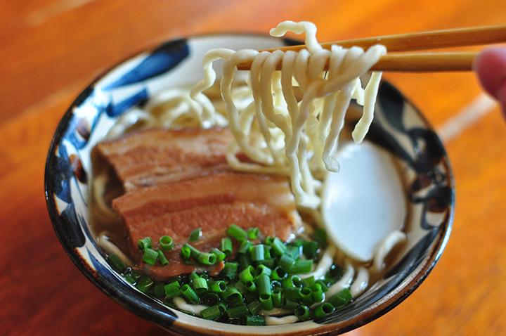 沖縄そば-3枚肉