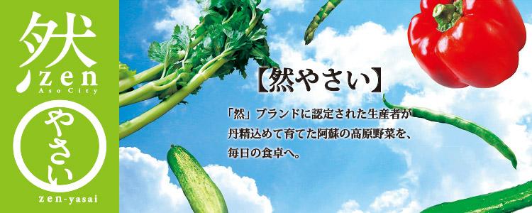 然やさい 阿蘇のブランド野菜