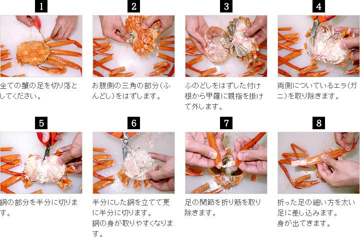 当社では、品質・茹で時間等を調査して商品を選んでおります。ズワイ蟹の味を存分にお楽しみください。※「すぐに食べない場合は、ビニール袋に入れて冷凍してください。」
