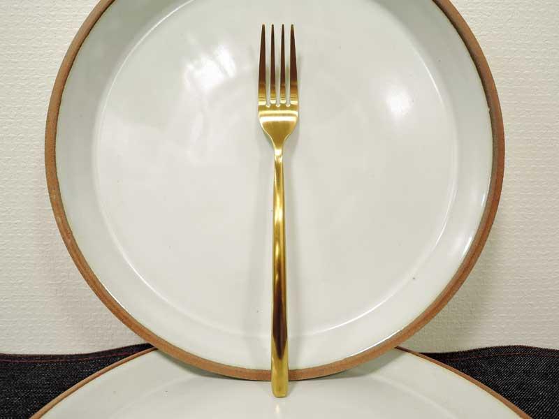 Gold Cutlery Dinner Fork