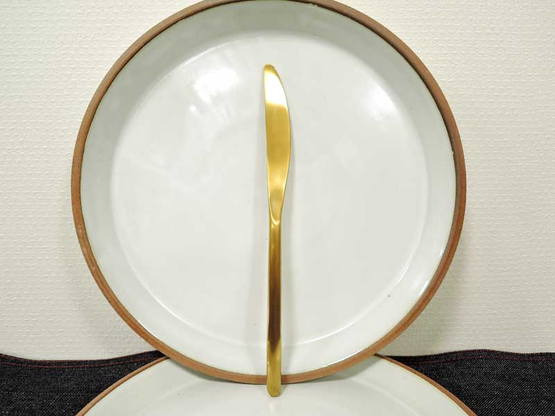 Gold Cutlery Dinner Knife