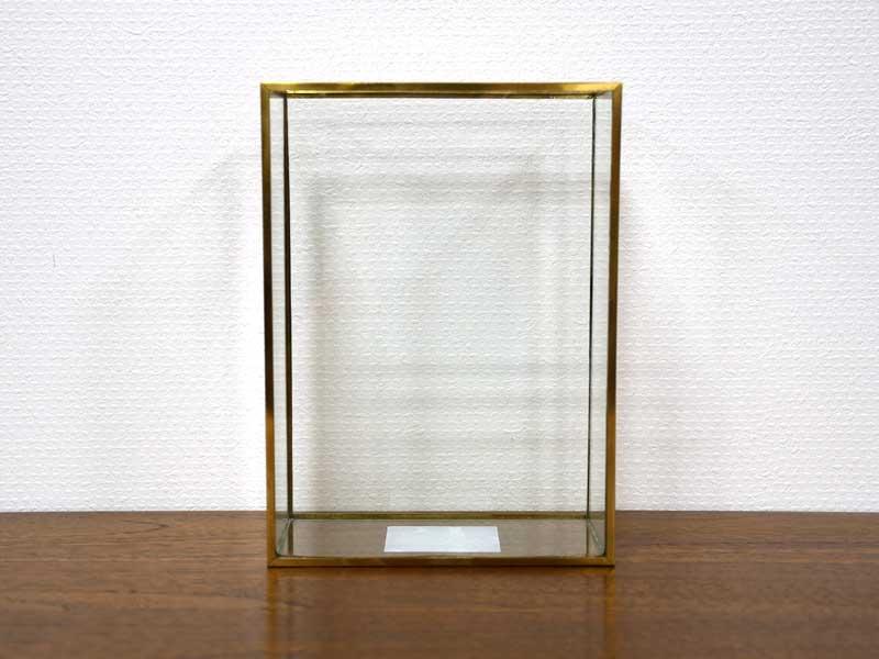 ブラスフレーム ガラスベース ワイド