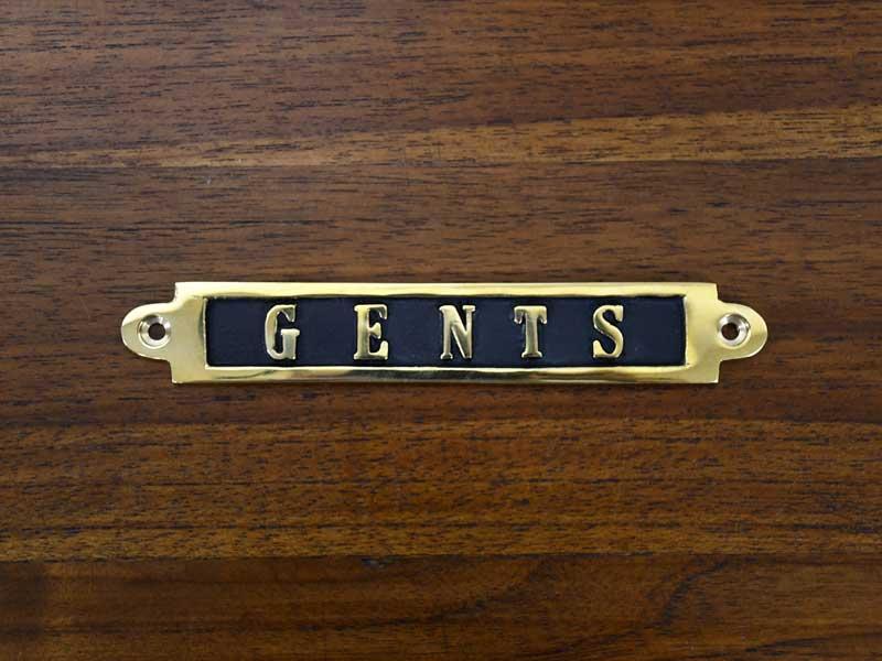 ブラスサイン GENTS
