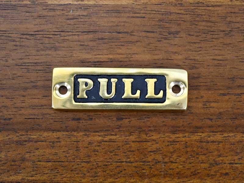 ブラスサイン PULL