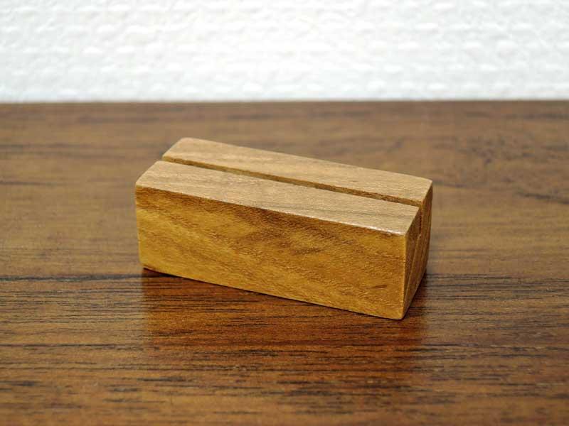 チーク カードスタンド S 5個セット