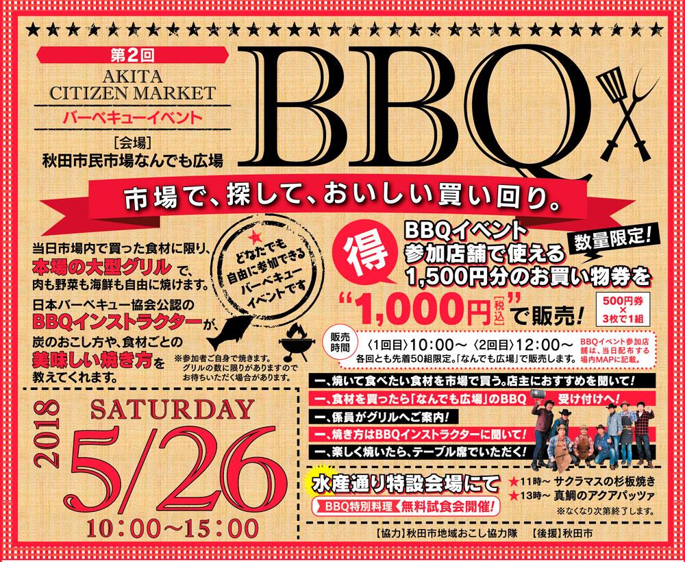 5/26 第2回BBQイベント開催