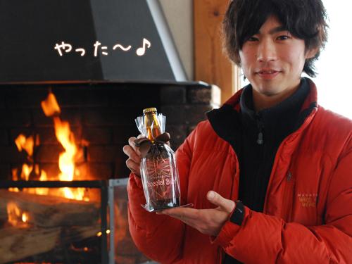 八ヶ岳地ビールタッチダウンチョコビール「ショコラ・シュバルツ」