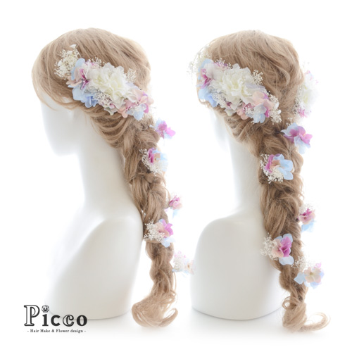 オーダーメイド髪飾り作品