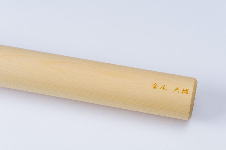 レーザー刻印で名入れした麺棒
