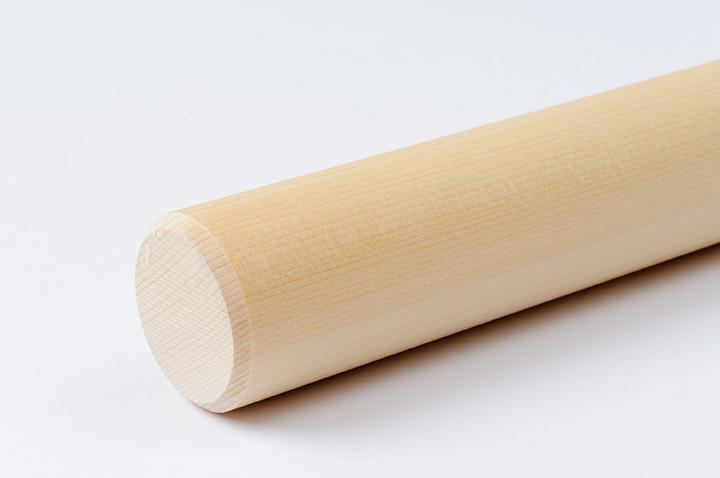 桧葉材の麺棒