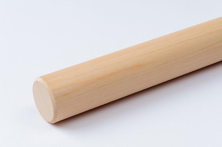 桧材の麺棒