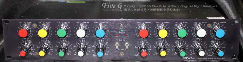 「GML 8200 stereo eq」