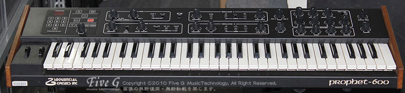 「SEQUENTIAL CIRCUITS PROPHET-600 6E3.1」