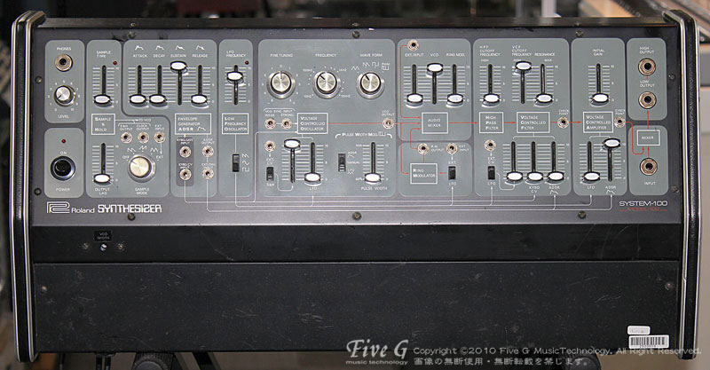 「ROLAND SYSTEM100 MODEL102」