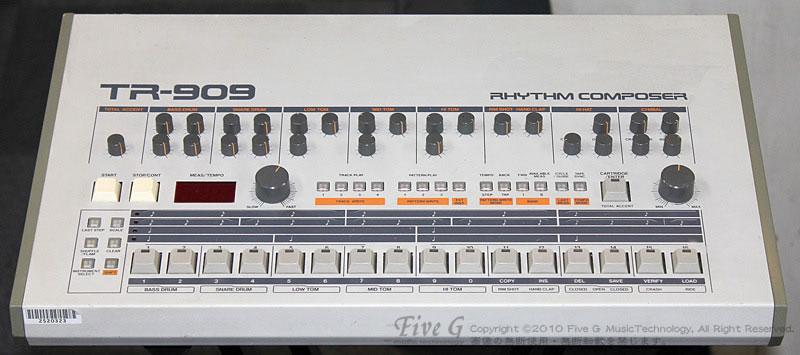 「ROLAND TR-909 USA 後期型 (9」