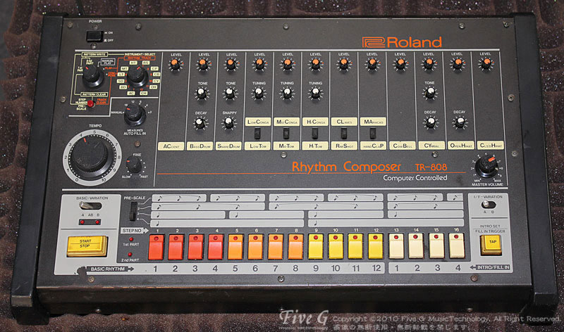 「ROLAND TR-808 Decay改造 (11)」