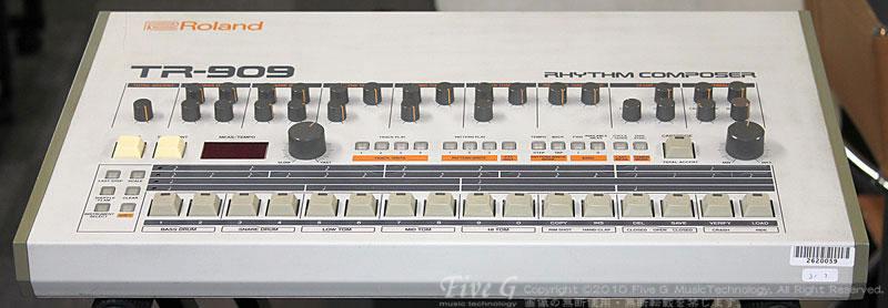 「ROLAND TR-909 後期型 (9」
