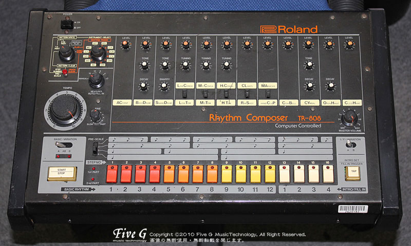 「ROLAND TR-808 Decay改造 (10)」