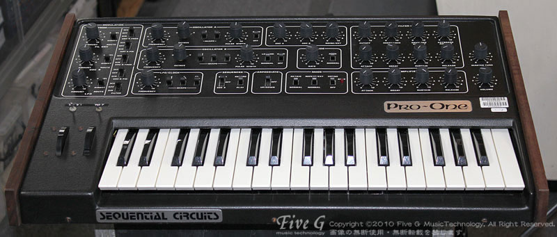 「SEQUENTIAL CIRCUITS PRO-ONE MIDI」