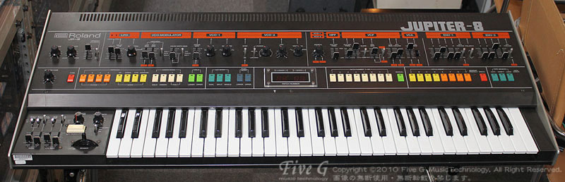 「ROLAND JUPITER-8 前期 USA MIDI付 (7)」