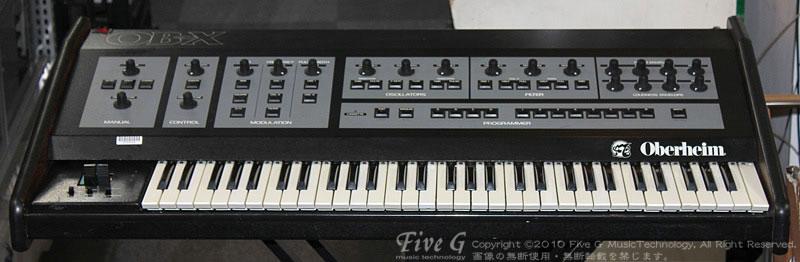 「OBERHEIM OB-X MIDI」