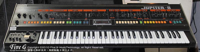 ROLAND JUPITER-8 前期 Five G MIDI付 (5)