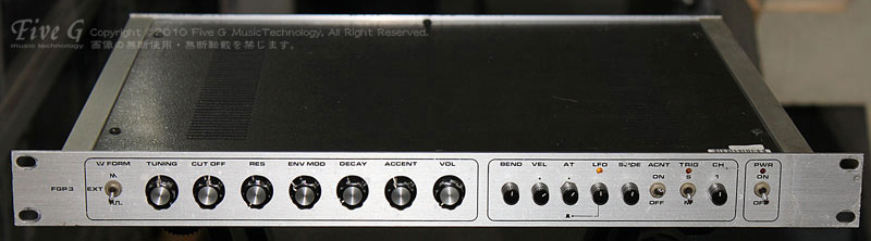 「FIVE G FGP-3 (TB-303 RACK)」
