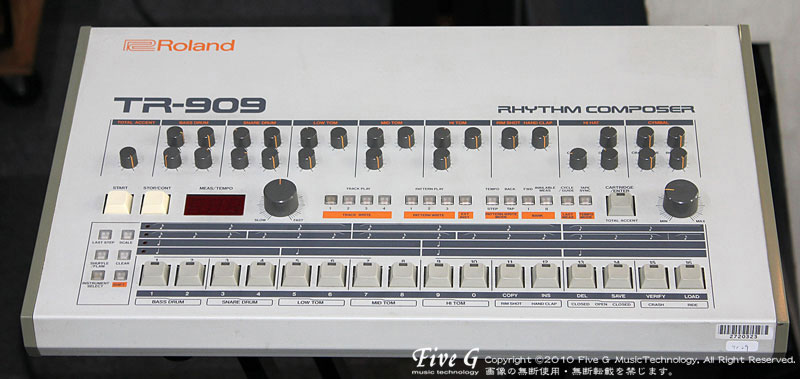 「ROLAND TR-909 後期型 (15)」
