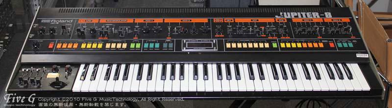 ROLAND JUPITER-8 前期 Five G MIDI付 (3)