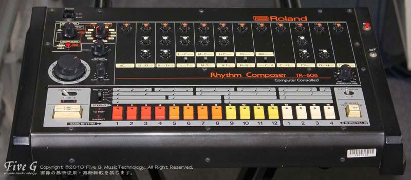「ROLAND TR-808 Five G-MIDI良品 (3)」