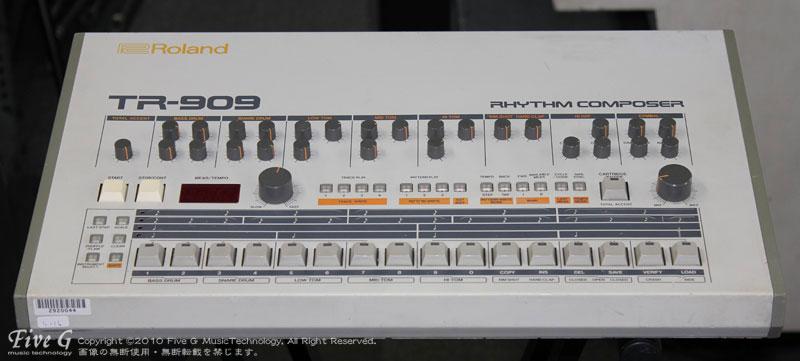 「ROLAND TR-909 後期型 (5)」