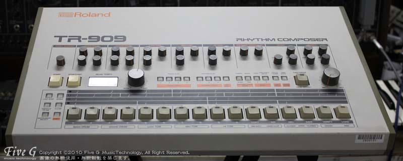 「ROLAND TR-909 後期型 USA (3)」