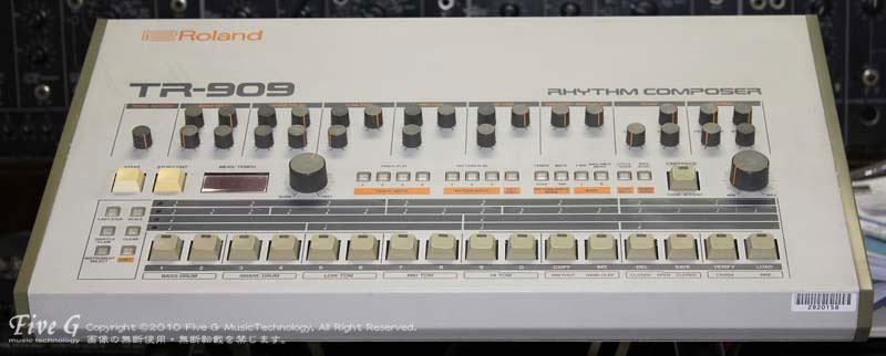 「ROLAND TR-909 後期型 (4)」