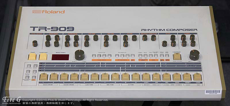 「ROLAND TR-909 後期型仕様 (2)」