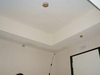 天井にMD123防カビ