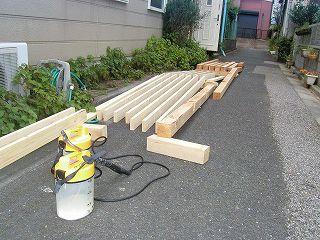 新たな建材にも防カビ