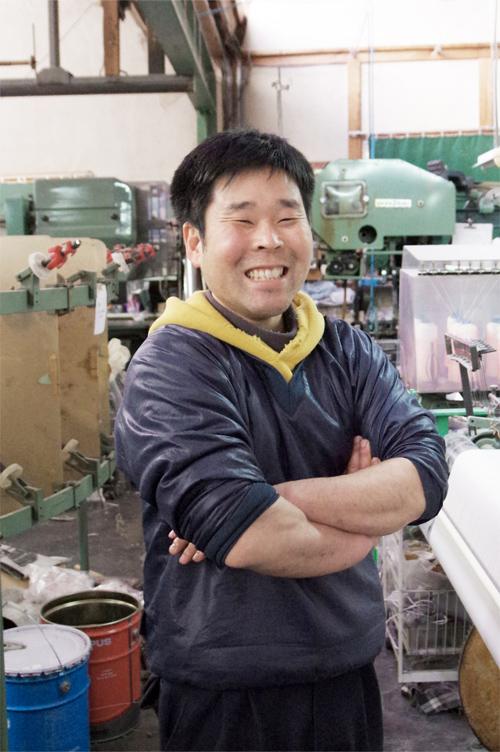 橋本裕司織布の職人
