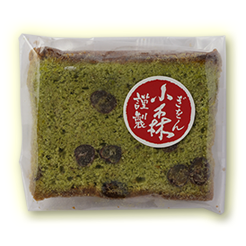 抹茶パウンドケーキ(カット)