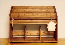 絵本棚の梱包手順1