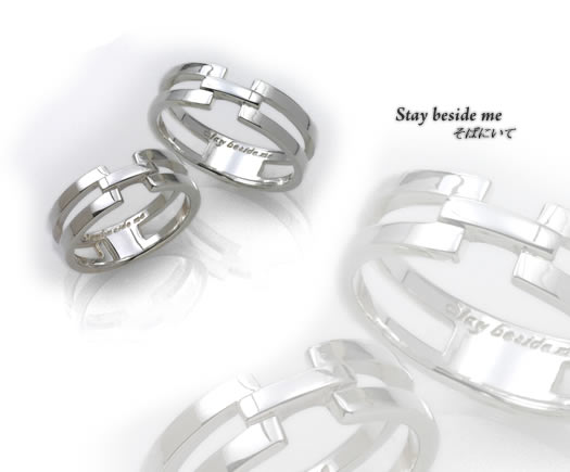 a1343 【70%OFF特別価格】シルバーリング Stay beside me
