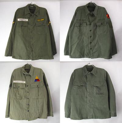 50-60年代のユーティリティシャツ
