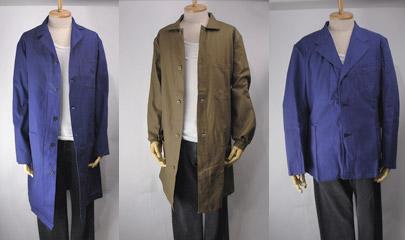 ユーロワークコート、ジャケット。