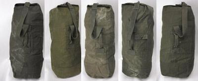 米軍ダッフルバッグ