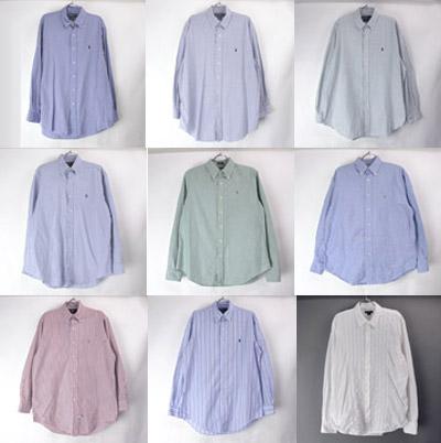 古着のラルフローレンシャツ